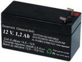 Batteria Ricaricabile 12 V. 1,2 Ah Selezionata Securvera