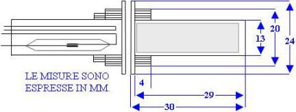 Misure Contatto Magnetico SE-CPC Securvera