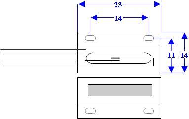 Microcontatto Allarme porte finestre Securvera