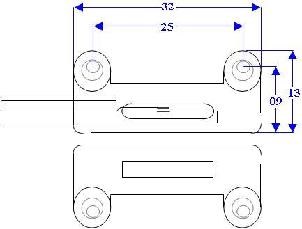 Schema Contatto Magnetico ST-400 Securvera