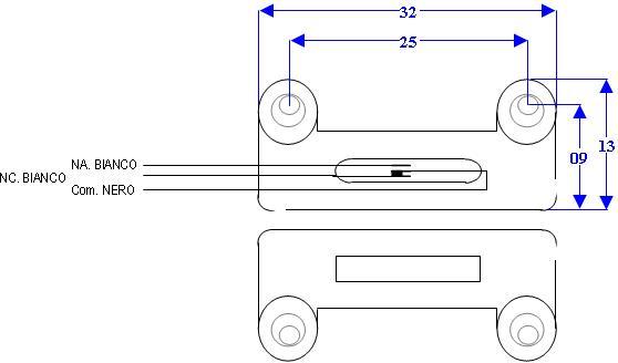 Contatto Magnetico Scambio Porte Interbloccate sbeco