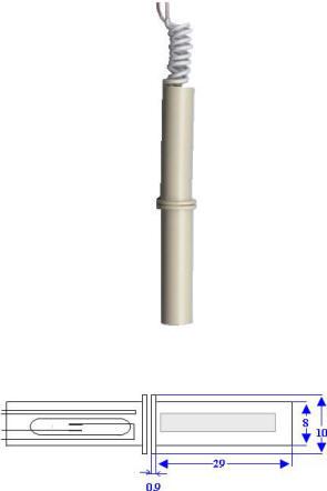 Contatto Magnetico Cilindrico Incasso Securvera