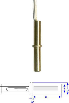 Contatto Magnetico Ottone Misure Securvera