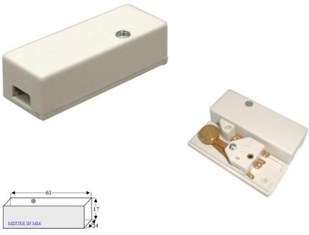 Sensore a Vibrazione Antifurto Misure Securvera