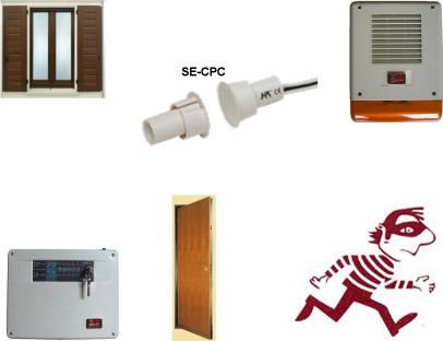 Contatto magnetico per antifurti allarme porte blindate ebay - Antifurto finestre aperte ...