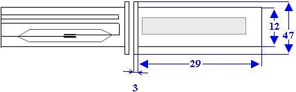 Misure e Schema del Contatto Magnetico