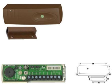 Sensore Impatto Marrome Antifurto Securvera