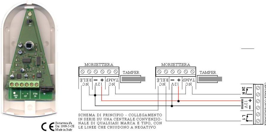 Schema Elettrico Per Porta Automatica Pollaio : Interruttore volumetrico montare motore elettrico