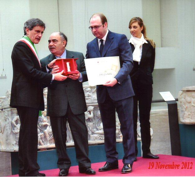 Premio Maestri Artigiani Alemanno Conferisce Graneri Sarto