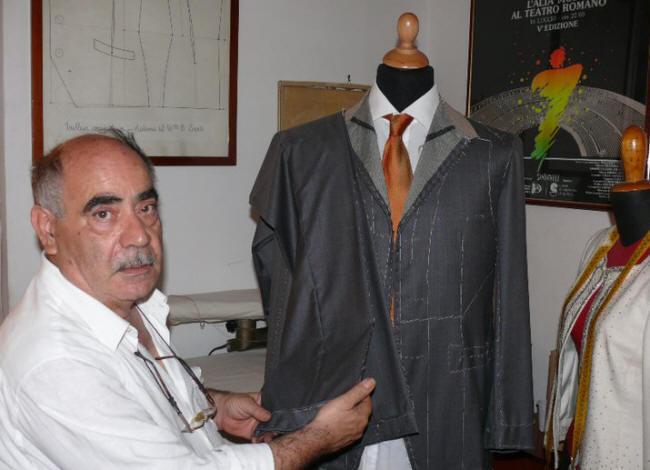 Antonio Graneri Maestro Sarto Spiega l'mbastitura