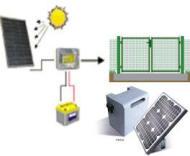 Kit Fotovoltaico Batteria 18 Ah Regime 3,5 A 12 Vcc