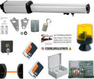 Kit Automatismo 220 v Cancello 1 Anta 2 mt. Securvera