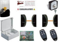 Kit Elettronica Cancello 2 Ante 220 V. 24 V.Securvera