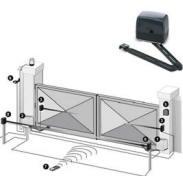 Motoriduttore Braccio Articolato Anta 2,5 Metri