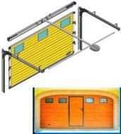 Porta Sezionale a Misura Automatica 24/220 V. Securvera