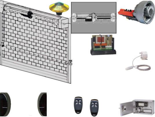 Kit Securvera x Automatizzare una Serranda