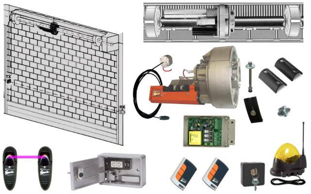 Schema Elettrico Motore Per Serrande : Selettore parete o da incasso apri chiude automatismo sale