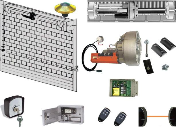 Serranda Automatica Elettrica Securvera