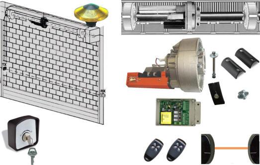 Schema Elettrico Motore Serranda : Serranda elettrica automatica motore universale v
