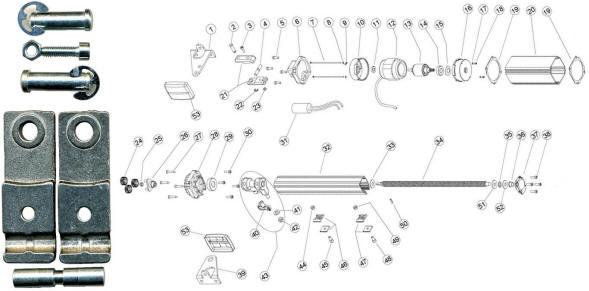 Giunto Forcella Snodo Motore PM1SC Securvera