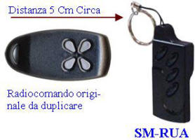 Radiocomando Clonatore SM-RUA Securvera