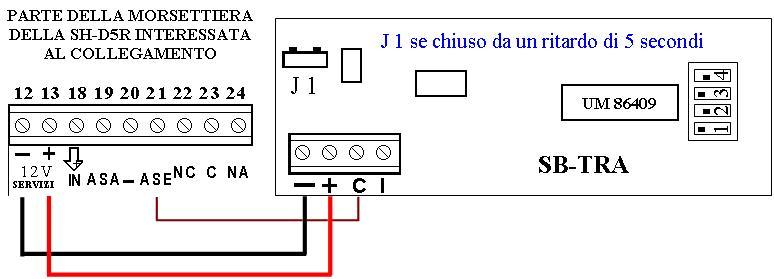 Schema Collegamento Antifurto Filare : Sb sar sirena lampeggiante radio allarmesatellitare