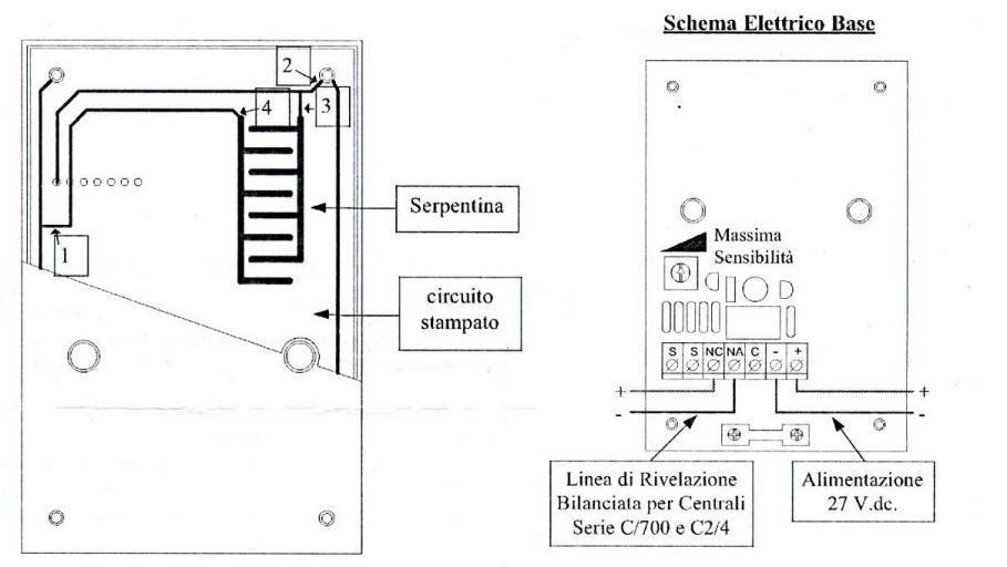 SS-WA2 Rilevatore Presenza Acqua Infrarossi Allarmesatellitare