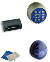 Tastiera Lettore Tessere Magnetiche Securvera