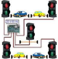 Impianto Semaforico 5 Semafori Controllati Securvera