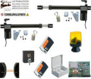 Kit Automatismo Cancello 2 Ante 220 V. Securvera
