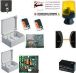 Elettronica kit Ricambio Cancello Ante Battenti 220 V. Securvera