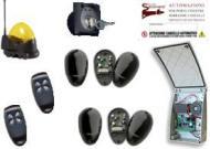Kit Elettronica per cancello Scorrevole a B.T. 12/24 V.