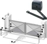 Motore Braccio Articolato 220 V. Cancello Securvera