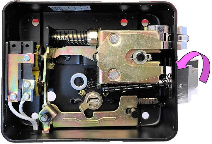 Elettroserratura Ambidestra per Cancello Automatico Securvera